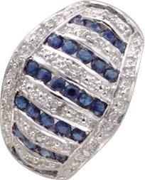 edler Ring in Silber Sterlingsilber 925/...