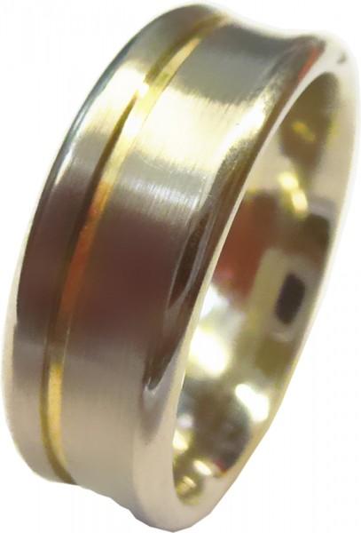 Ring Silber Sterlingsilber 925/-vergolde...