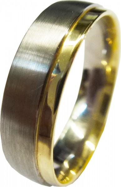 Ring in Silber Sterlingsilber 925/- teil...