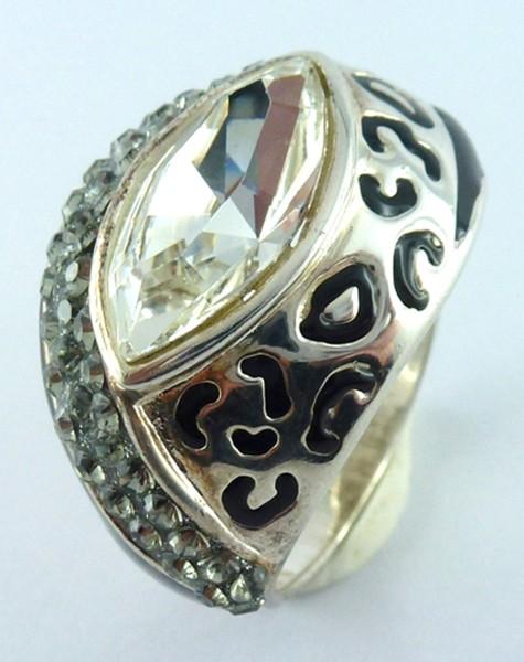 Ring 925er Sterling Silber 53 Zirkonia