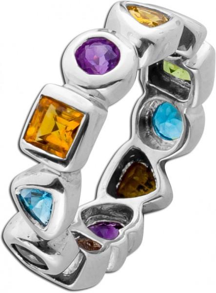 Ring Edelsteinring Sterling Silber 925 B...
