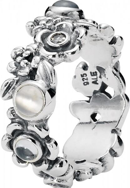 PANDORA Ring 190121BTP Blüten 925er Ste...