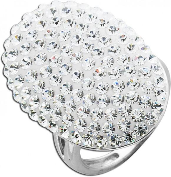 Ring Sterling Silber 925 Kristallsteinen...