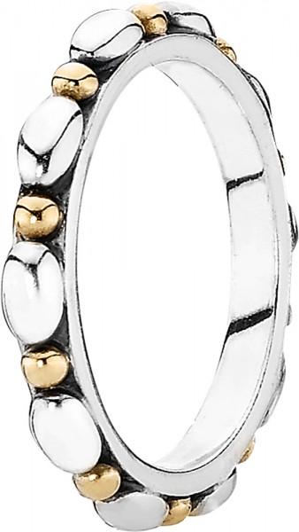 PANDORA  Ring 190856 Gold 585 Sterling S...