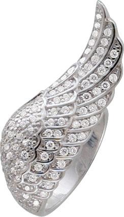 Engelsflügel Ring Sterling Silber 925 Z...