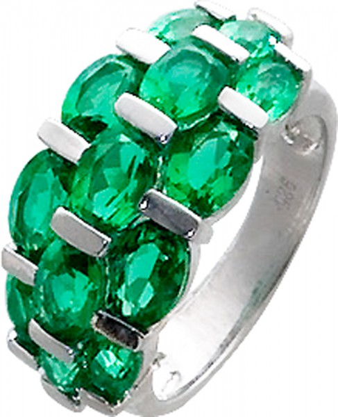 Stylischer Ring in Silber Sterlingsilber...