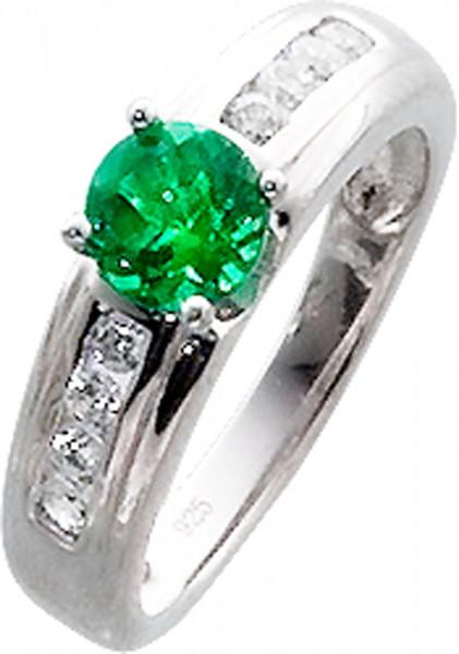 Hübscher Ring in Silber Sterlingsilber ...