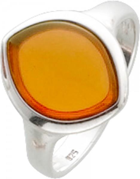 Bernsteinring Silber Sterlingsilber 925/-