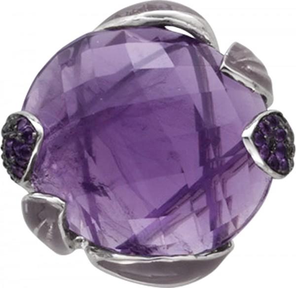 Lila Amethystring lilafarben violetter g...