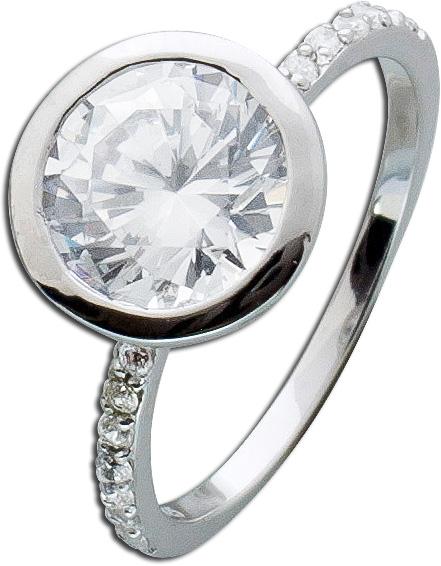 Ring Silber Sterling 925 Zirkonia verspi...