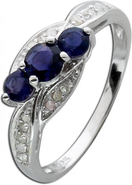 Ring Sterling Silber 925 Iolite