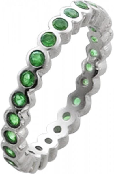 Ring in Silber Sterlingsilber 925/- rund...