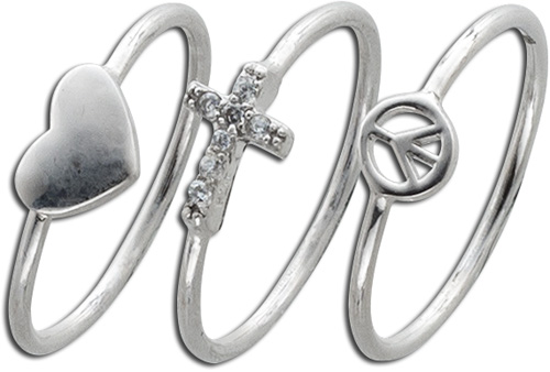 Knuckle Ring Knöchelring Silber Sterlin...