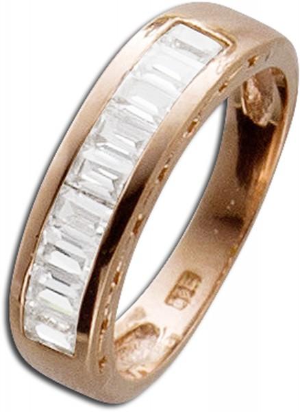 Memoire Ring Silber 925 Damenring rose v...