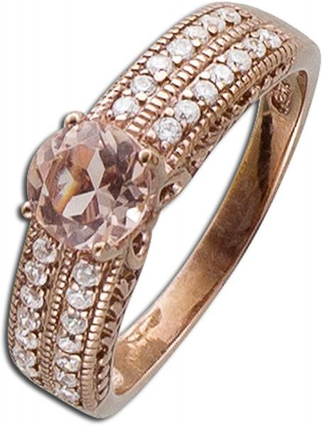 Ring rosegold vergoldet Silber 925 Morga...