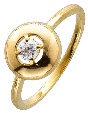 Silberring Sterling Silber 925 vergoldet...