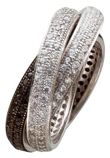 Ring Drei ineinander Sterling Silber 925...