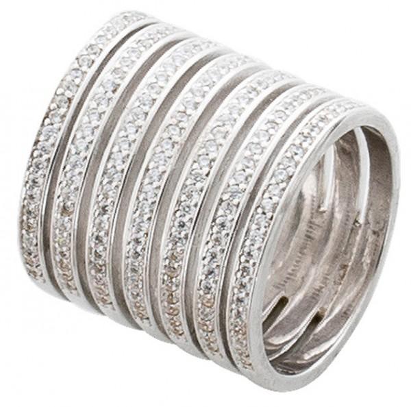 Offener Ring  – Sterling Silber 92...