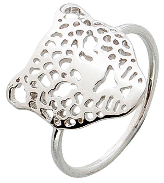 Ring Silber 925 Leopard Motiv Damenring
