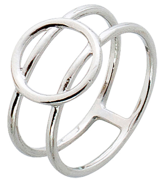 Offener Ring Sterling Silber poliert