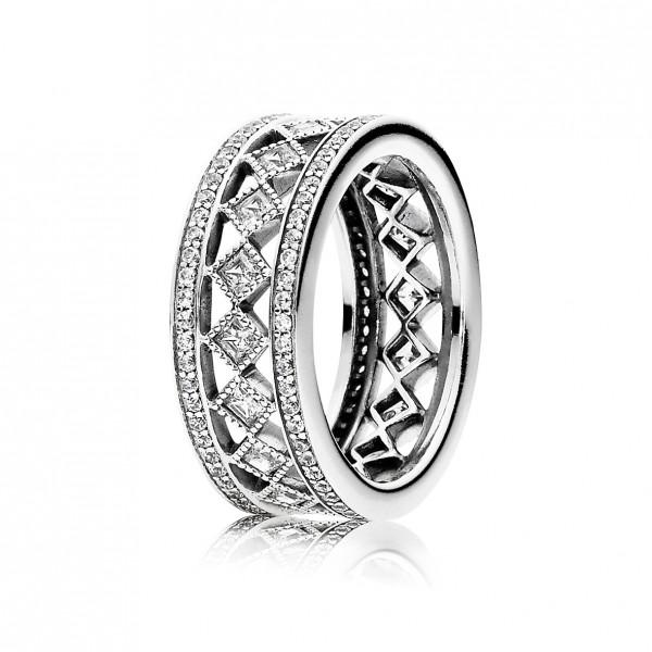 PANDORA SALE – Ring 191007CZ Faszination Vintage
