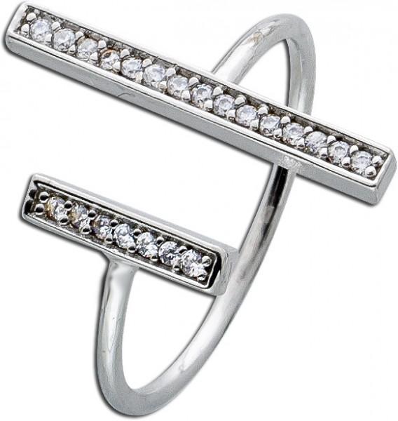 Offener Ring – Silberring Sterling...