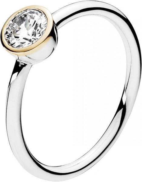 PANDORA Ring 191043CZ EwigeTreue Silber ...