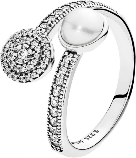 PANDORA Ring 191044CZ Strahlendes Leucht...