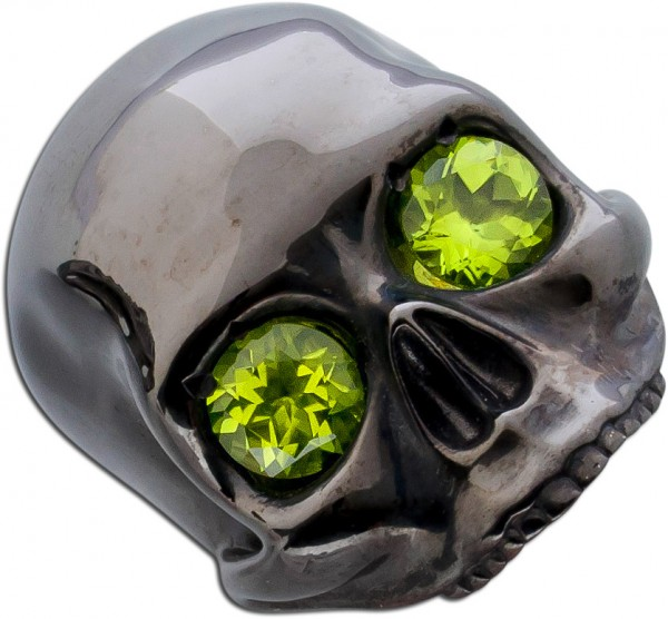 Totenkopfring by Saskia Dattner Ring Jan...