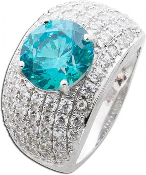Ring Sterling Silber 925 Swarovski Krist...