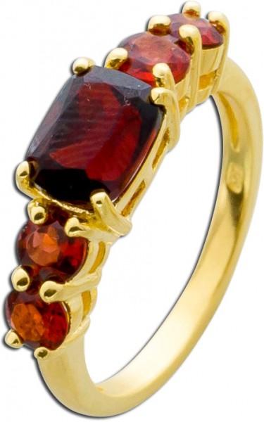 Granat Edelstein Ring Sterling Silber 92...