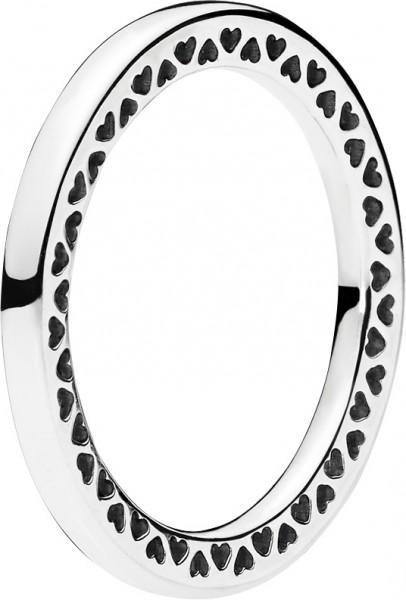 PANDORA SALE Ringe 196237 Sterling Silber 925 klassische unendliche Herzen