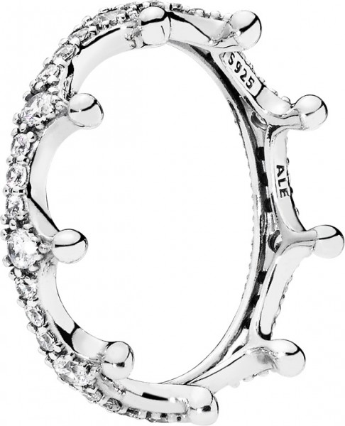PANDORA SALE Ring 197087CZ Enchanted Cro...