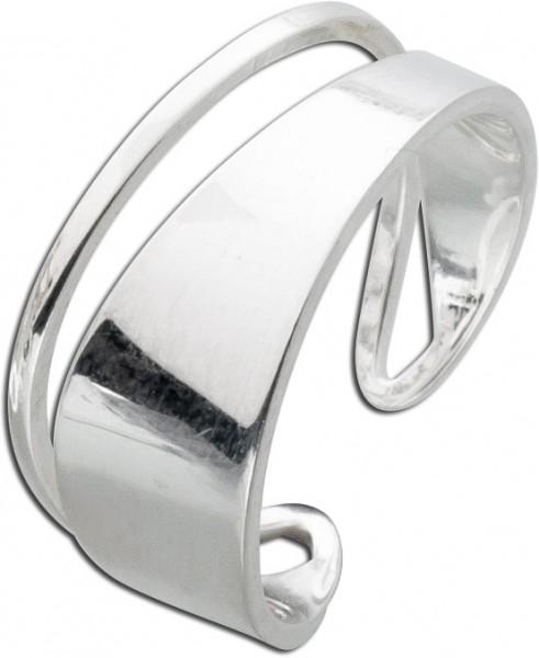 Ring modern Silber 925 Silvana Martini S...