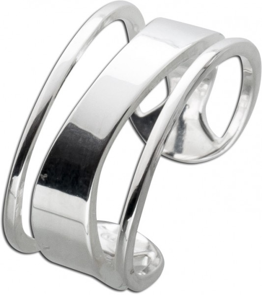 Ring Damen Silber 925 modern Design Silv...