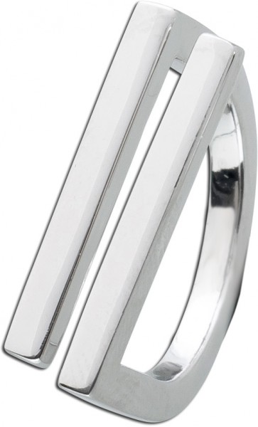 Ring Silber 925 modern markant UNO A ERR...