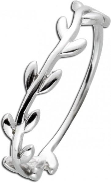 Blattring Silber 925 Ring Zweigring Dame...