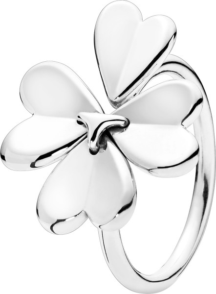 PANDORA Ring 197949 Moving Clover Kleebl...