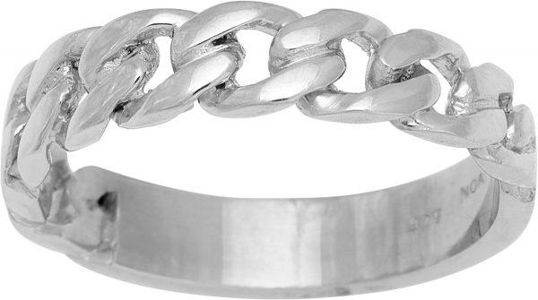 NORDAHL Ring 125 310 Kettenring Panzerketten Motiv Silberring