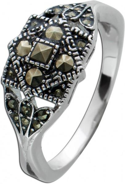 Edelstein Ring Markasit Steinen Silber 925 Damen Ring