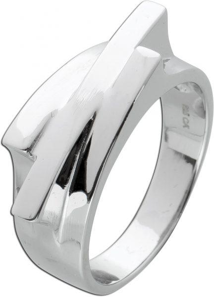 3-reihiger Ring Silber 925 Damenschmuck