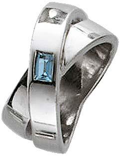 Silberring in den Größen 16-20mm, mit einem zauberhaften hellblauen Topasstein. Rhodiniert, aus echtem Silber Sterlingsilber 925/-. Mit gleichbleibender Ringschiene. Ring ca. 16mm breit. Der Hitpreis aus Stuttgart! Die Nr. 1 für Gold, Silber und Edelstein