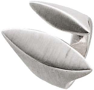 Ring in echtem Silber Sterlingsilber 925/- , matt, Breite 25 mm, Stärke 2 mm. In den Größen 16 – 20 mm erhältlich. Tolles Design – ein absoluter Hingucker – dies nur bei Ihrem Topjuwelier aus Stuttgart. Der Bestpreis von Deutschlands größtem und günstigst