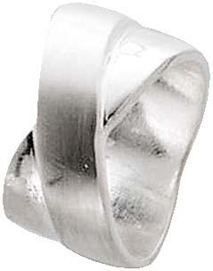 Ring in echtem Silber Sterlingsilber 925/- , poliert, Breite 10 mm, Stärke 2 mm. In den Größen 16 – 22 mm erhältlich. Ein absoluter Hingucker – dies nur bei Ihrem Topjuwelier aus Stuttgart. Der Bestpreis von Deutschlands größtem und günstigstem Schmuckver