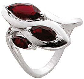 Ring aus echtem 925/- Silber Sterlingsil...
