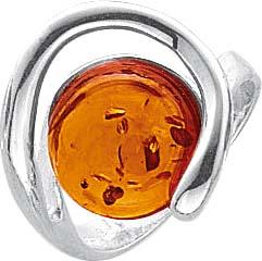 Bernsteinring in verschiedenen Größen mit echtem, wunderschönen braunen Bernsteinen,  fein eingearbeitet in echtem 925/- Silber Sterlingsilber, hochglanzpoliert und rhodiniert (Weißgoldlook). Ringkopfbreite ca. 16,6 mm, Breite ca. 3,6 mm, Stärke 0,8 mm. D