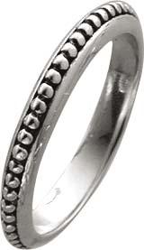 Ring Sterling Silber 925 teilweise gesch...