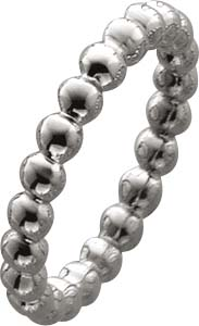 Ring Sterling Silber 925 rhodiniert hoch...