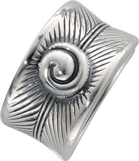 DesignerRing  aus echtem 925/- Silber Sterlingsilber rhodiniert (Weißgoldlook), oxydiert und hochglanzpoliert. Breite ca. 1,49cm, Stärke ca. 0,19mm. Ringe lieferbar in den Größen 16-20mm mit Bestpreisgarantie aus Stuttgart in feiner Juweliersqualität von