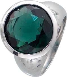 Traumhafter Ring in Silber Sterlingsilber 925/- mit einem grünen Quarzstein, Durchmesser 16mm, Höhe 6mm. Zum Sensationspeis in Premiumqualität aus Stuttgart – ABRAMOWICZ – die feine Goldschmiede